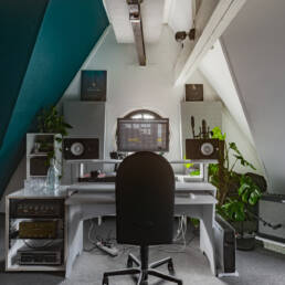 Podcast studio Amsterdam gear